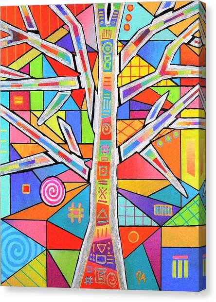 Totem Tree Canvas Print