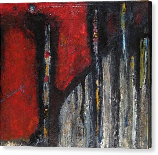 Totems Of The Intu-i-verts  Canvas Print by Dana ORegan