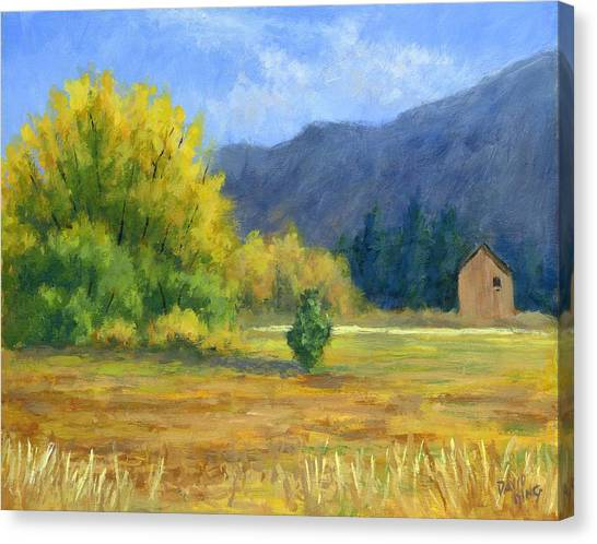 Touch Of Autumn Canvas Print by David King