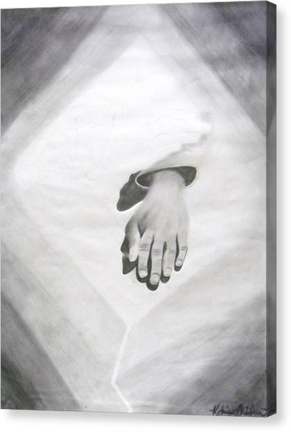 Touched Canvas Print by Katrice Kinlaw