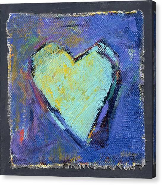 Canvas Print featuring the photograph Love 7 by Konnie Kim