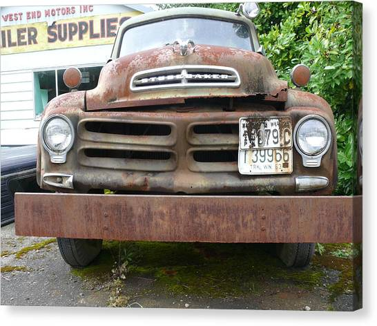 Tow Truck - Forks Washington Canvas Print