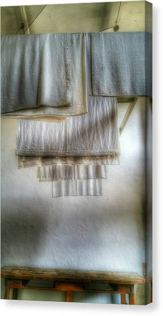 Towels And Sheets Canvas Print