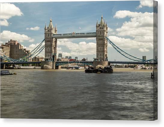Tower Bridge A Canvas Print