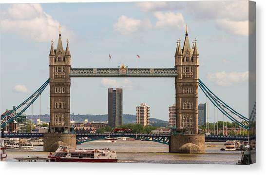Tower Bridge C Canvas Print