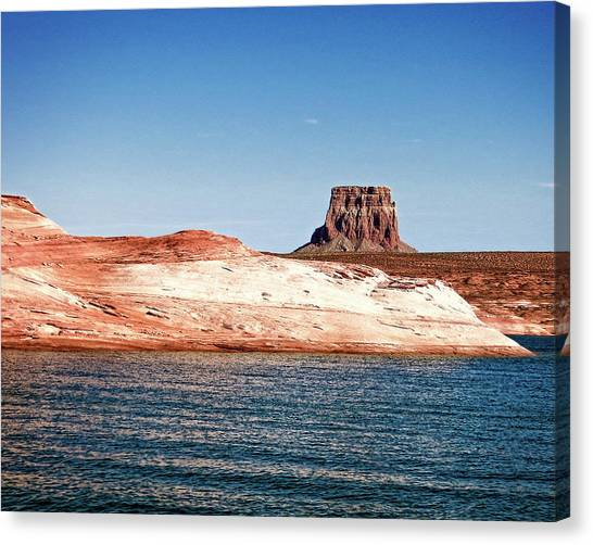 Canvas Print featuring the photograph Tower Butte by Christopher Meade