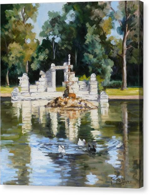 Canvas Print - Tower Grove Park St.louis Summer by Irek Szelag