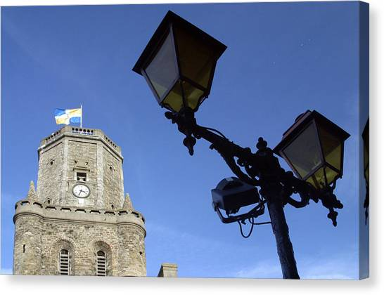 Tower Lights 2 Canvas Print by Jez C Self