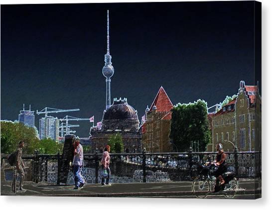 Tower No. 5 Canvas Print by Arie Van Garderen