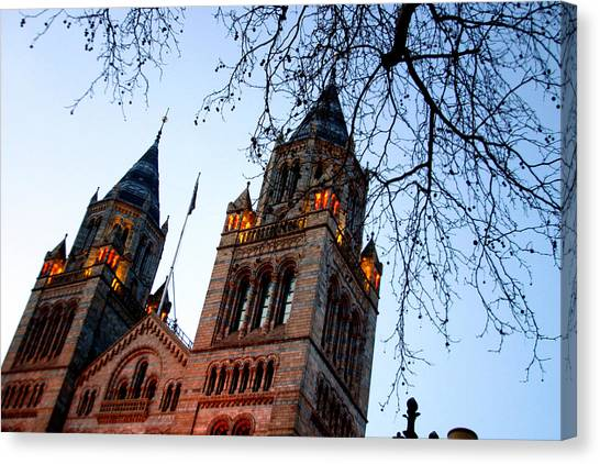 Tower Of History Canvas Print by Jez C Self