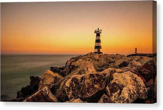 Canvas Print featuring the photograph Tower Of Light by Nick Bywater