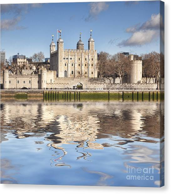 Tower Of London Canvas Print - Tower Of London by Colin and Linda McKie