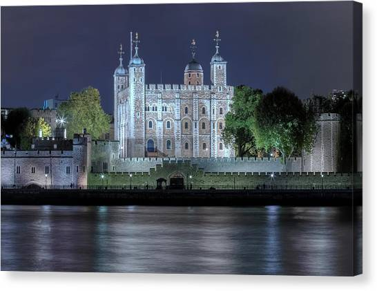 Tower Of London Canvas Print - Tower Of London by Joana Kruse