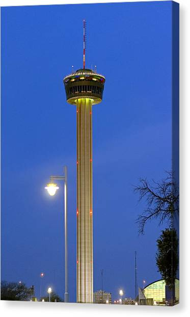 Tower Of The Americas Canvas Print