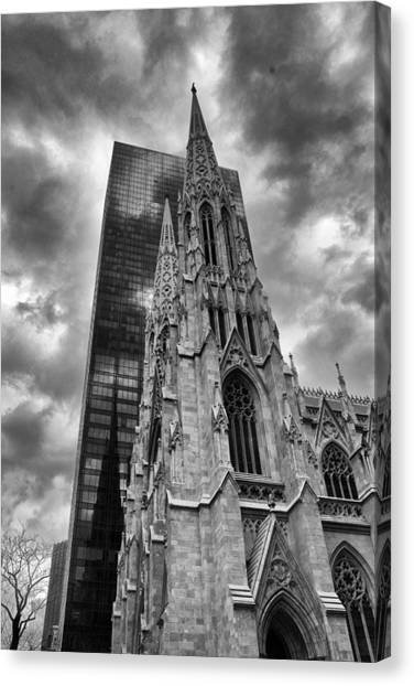 Patrick Canvas Print - Towering by Jessica Jenney