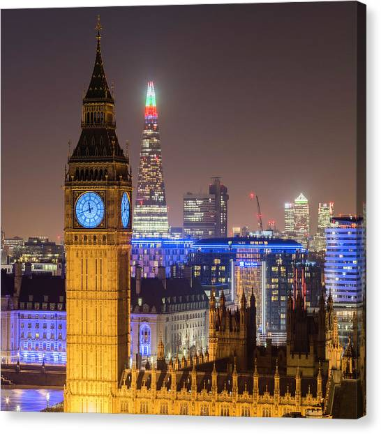 Towers Of London Canvas Print