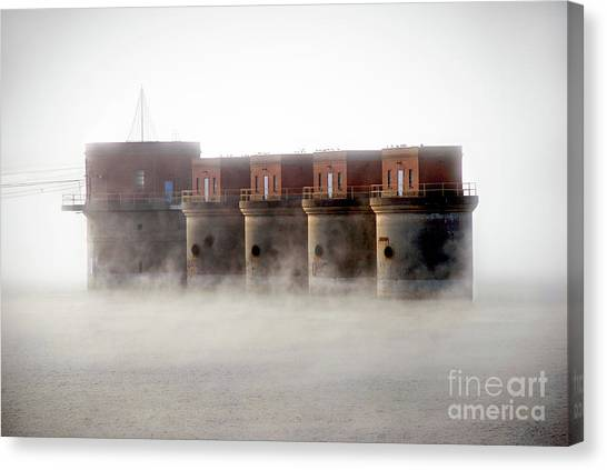 Towers Rising Canvas Print