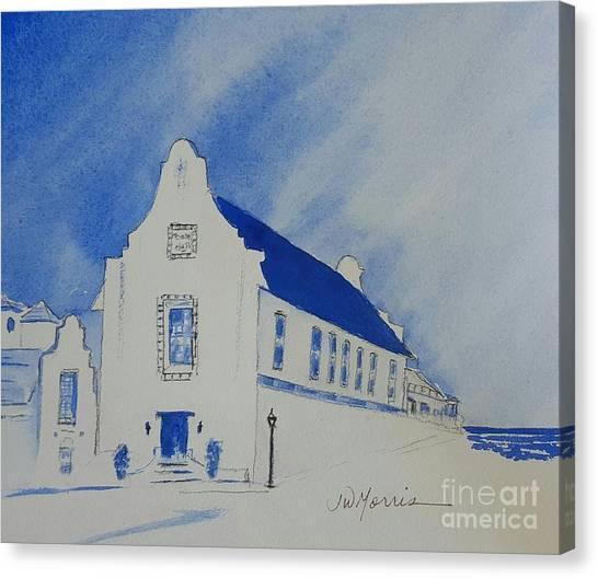 Town Hall, Rosemary Beach Canvas Print