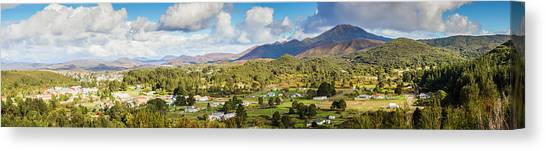Historic House Canvas Print - Town Of Zeehan Australia by Jorgo Photography - Wall Art Gallery