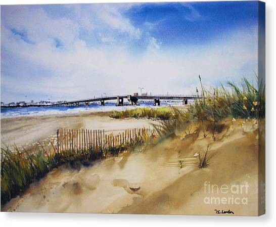 Townsends Inlet Canvas Print