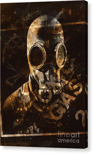 Pollution Canvas Print - Toxic Gas Chemical Hazard by Jorgo Photography - Wall Art Gallery