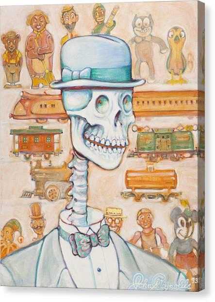 Toy Bones Canvas Print
