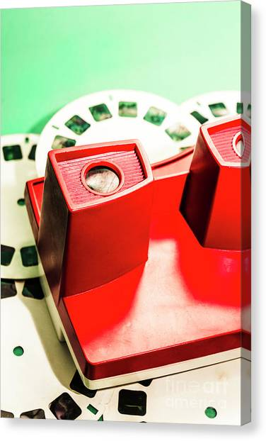 80s Canvas Print - Toy Photo Film Viewer  by Jorgo Photography - Wall Art Gallery