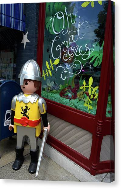 Toy Soldier 2016 Canvas Print