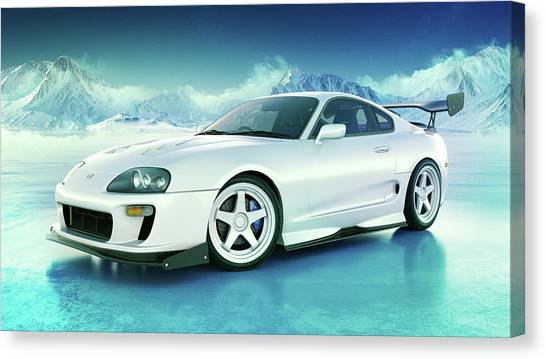 Toyota Supra Mkiv Canvas Print