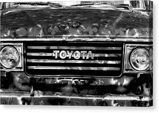 Toyota Canvas Print - Toyota Truck by Lyle  Huisken