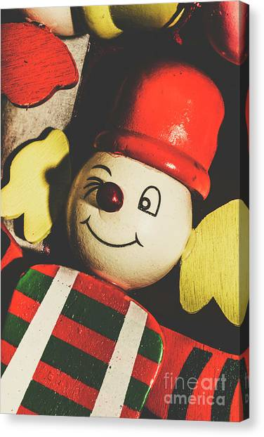 Clown Art Canvas Print - Toys From Antiquity Past by Jorgo Photography - Wall Art Gallery