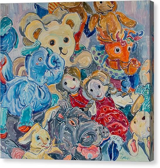 Toys Canvas Print by Vitali Komarov