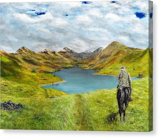 Tracking Niseag Canvas Print
