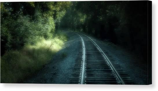 Tracks Through Time Canvas Print