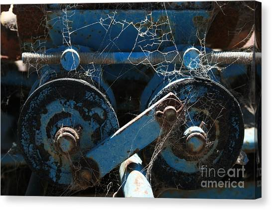 Tractor Engine IIi Canvas Print