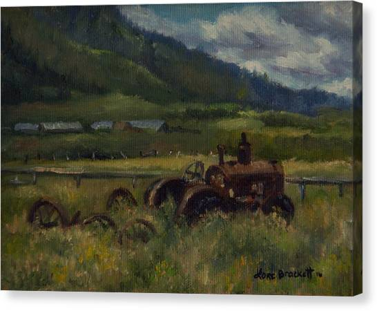 Tractor From Swan Valley Canvas Print