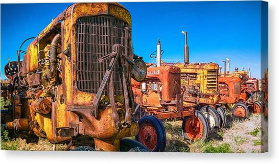 Tractor Supply Canvas Print