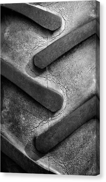 Tractor Tread Canvas Print