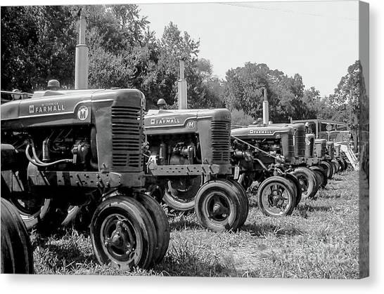 Tractors Canvas Print