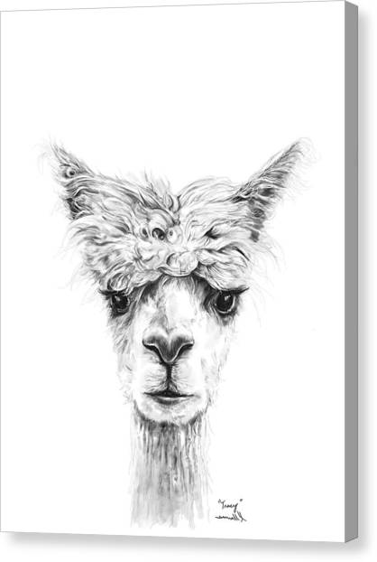 Canvas Print - Tracy by K Llamas