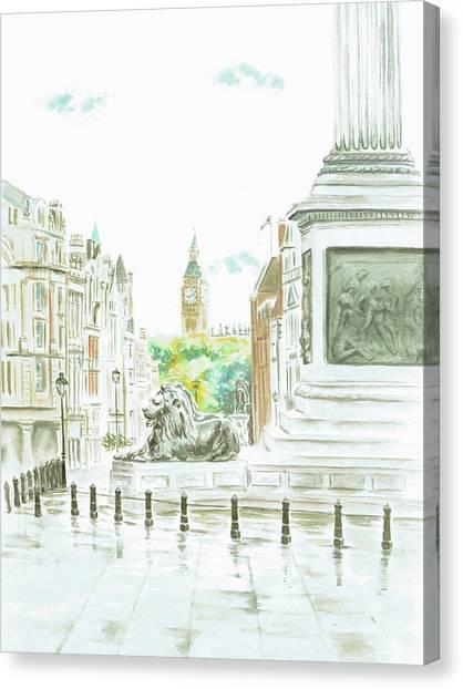 Trafalgar Square Canvas Print