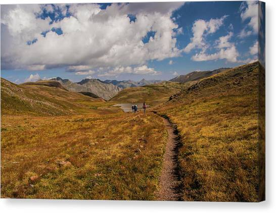 Trail Dancing Canvas Print