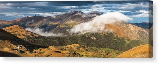 Trail Ridge Overlook Canvas Print by T-S Fine Art Landscape Photography