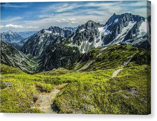 Trail To Stehekin Canvas Print