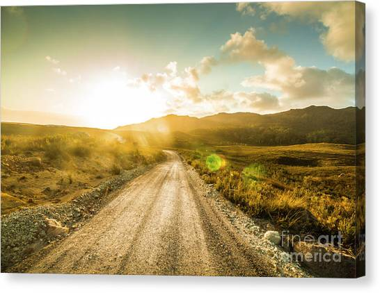 Rural Canvas Print - Trail To Trial by Jorgo Photography - Wall Art Gallery