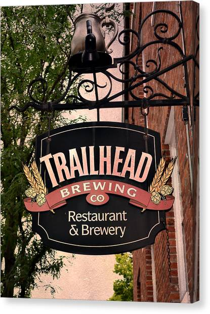 Trailhead Brewing Company Canvas Print