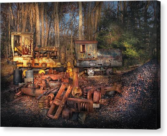 Instruction canvas prints page 9 of 36 fine art america instruction canvas print train yard do it yourself kit by mike savad solutioingenieria Choice Image