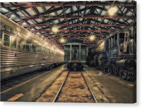 Thomas The Train Canvas Print - Train Of The Goddess Nebraska Zephyr Venus Car by Thomas Woolworth