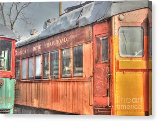 Train Series 5 Canvas Print by David Bearden
