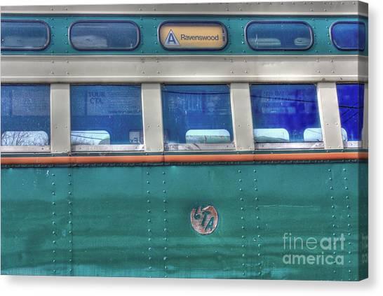 Train Series 8 Canvas Print by David Bearden